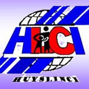 Blau-rotes Logo des Weltwaerts Projektes Huyslinci