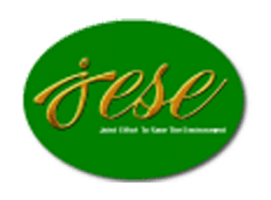 grün-gelber Schriftzug weltwaerts Projekt Jese