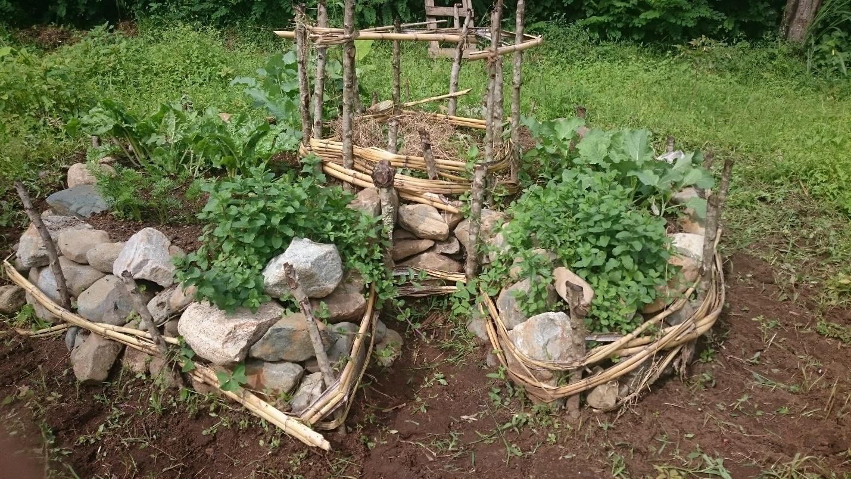 Gartenkonstruktion