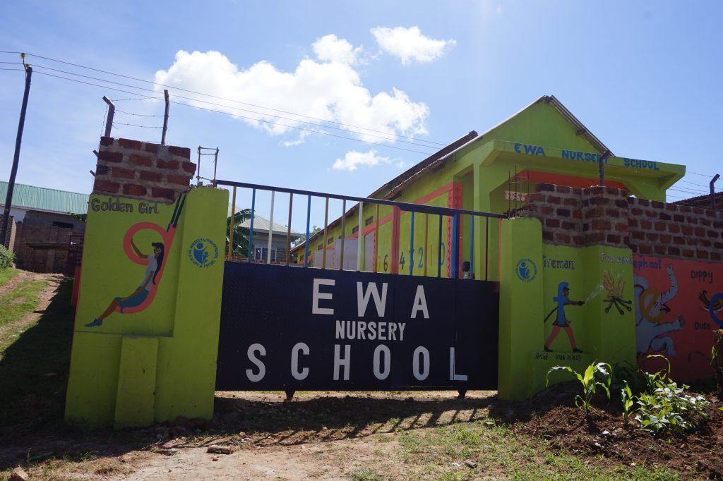 Eingang zur EWA-Vorschule