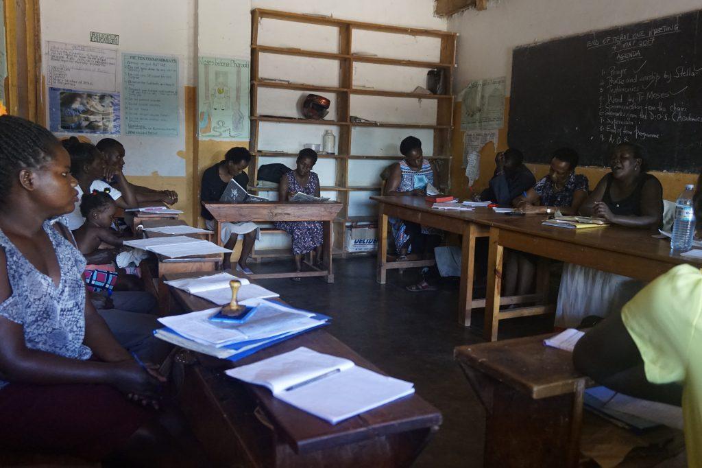Lehrerversammlung an der EWA Schule