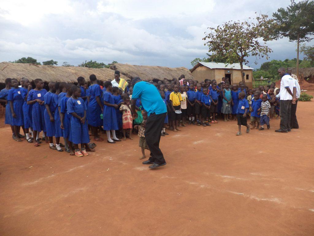 Die von PHFC unterstütze Primary School in Kiryandongo