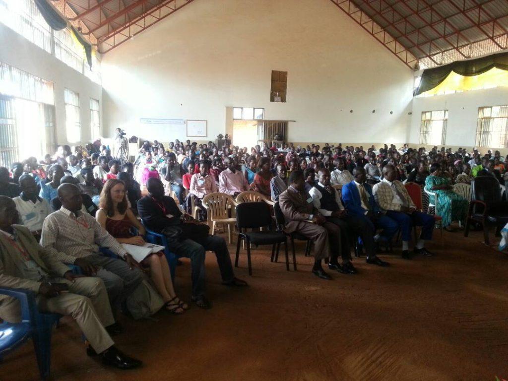 Mit PHCF auf einer Konferenz